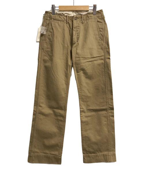 RRL(ダブルアールエル)RRL (ダブルアールエル) トラウザーパンツ ベージュ サイズ:W28の古着・服飾アイテム