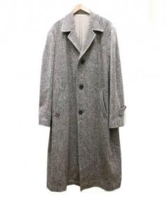 YS for men(ワイズフォーメン)の古着「カラーネップオーバーサイズコート」|グレー