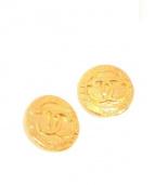 CHANEL(シャネル)の古着「ヴィンテージココマークイヤリング」 ゴールド