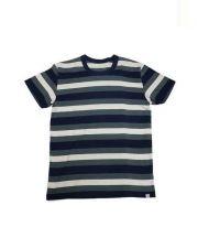 VISVIM(ビスビム)の古着「ヘビーウェイトボーダーTシャツ」|インディゴ