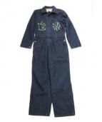 EVISU(エビス)の古着「デニムオールインワン」|インディゴ
