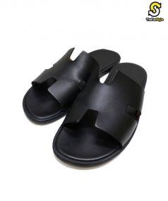 HERMES(エルメス)の古着「izumir sandals」 ブラック