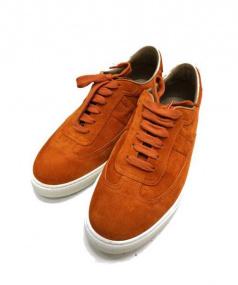 HERMES(エルメス)の古着「スウェードスニーカー」 オレンジ