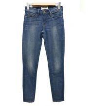 FRAME DENIM(フレームデニム)の古着「スキニージーンズ」|ウォッシュドブルー