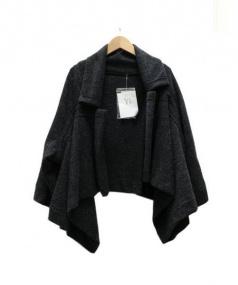 Y's(ワイズ)の古着「デザインニットジャケット」|グレー