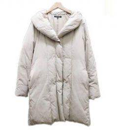 LAUTRE AMONT(ロートレアモン)の古着「ダウンコート」 ピンク