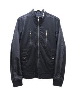DIESEL(ディーゼル)の古着「デザインミリタリージャケット」|ブラック
