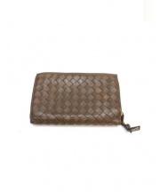 BOTTEGA VENETA(ボッテガベネタ)の古着「2つ折り財布」 ブラウン