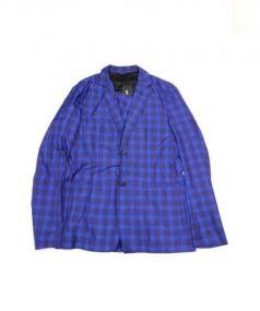 RAF SIMONS(ラフシモンズ)の古着「ナイロンテーラードジャケット」|ブルー