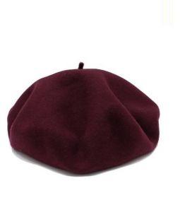 BUENAVISTA(ブエナビスタ)の古着「ベレー帽」|ワインレッド