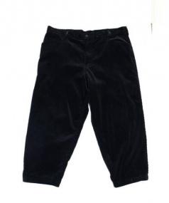 Essay(エッセイ)の古着「OVESIZED TAPERED PANTS」|ブラック