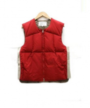 MOUNTAIN RESEARCH(マウンテンリサーチ)の古着「Puff Vest」|レッド