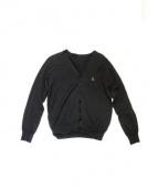 SOPHNET.(ソフネット)の古着「Vネックカーディガン」|ブラック