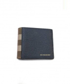 BURBERRY(バーバリー)の古着「2つ折り財布」|ネイビー