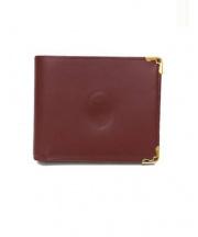 Cartier(カルティエ)の古着「2つ折り財布」 レッド