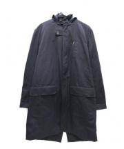 Oliver Spencer(オリバースペンサー)の古着「フーデッドコート」|ネイビー