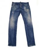 DSQUARED2(ディースクエアード)の古着「ダメージ加工デニム」|ブルー