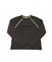 ALEXANDER WANG(アレキサンダーワン)の古着「Stripe Pullover」 チャコールグレー