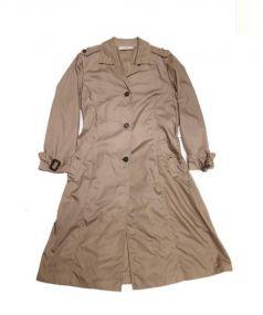 PRADA(プラダ)の古着「ナイロントレンチコート」|ベージュ