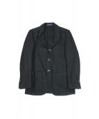 FRANKLIN TAILORED(フラクリン テーラード)の古着「ラムウールテーラードジャケット」 ブラック