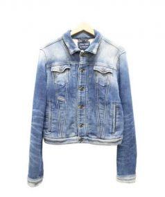 DISEL(ディーゼル)の古着「ジョグデニムジャケット」 ブルー