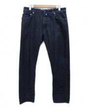 JACOB COHEN(ヤコブコーエン)の古着「デニムパンツ」|ブルー