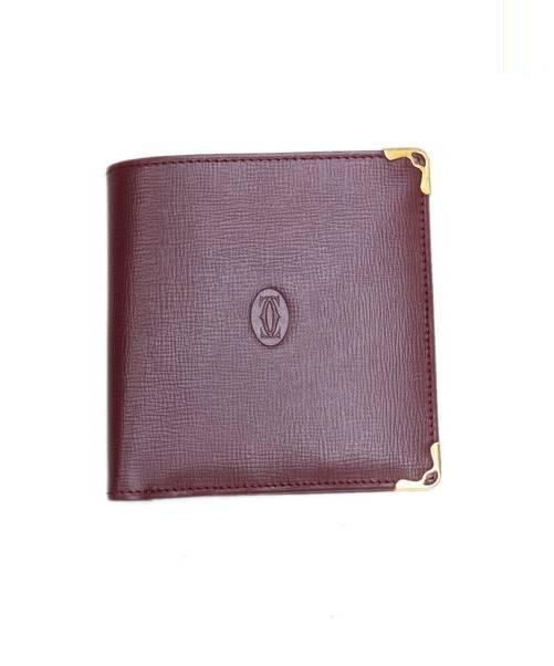 d6f35f428acf 中古・古着通販】Cartier (カルティエ) 2つ折り財布 レッド|古着通販 ...