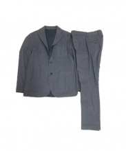 SOPH.(ソフ)の古着「ストレッチギャバジンセットアップ」|ブラック