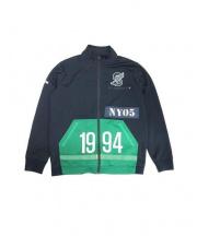 SUPREME(シュプリーム)の古着「1994 Stadium Track Jacket」|ブラック×グリーン