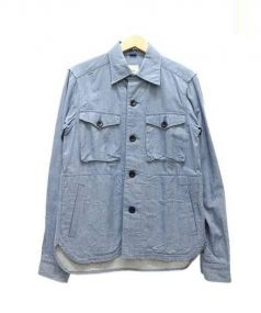 ts(s)(ティーエスエス)の古着「CPOジャケット」|ブルー