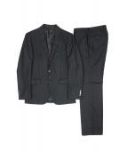 UNITED ARROWS WHITE LABEL(ユナイテッドアローズ ホワイトレーベル)の古着「セットアップスーツ」|ブラック