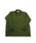 VOTE MAKE NEW CLOTHES(ヴォートメイクニュークローズ)の古着「BIGCOACHJKT」|オリーブ