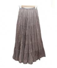 MARIHA(マリハ)の古着「草原の虹のスカート」 バイオレット