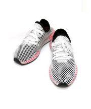 adidas(アディダス)の古着「DEERUPT RUNNER」|ホワイト×ピンク