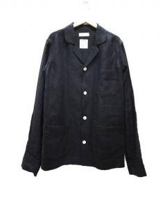 MADISON BLUE(マディソンブルー)の古着「リネンジャケット」|ブラック