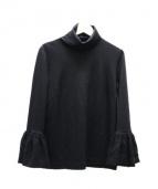 leur logette(ルールロジェット)の古着「袖コンプルオーバー」 ブラック