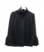 leur logette(ルルロジェッタ)の古着「袖コンプルオーバー」 ブラック