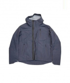 DESCENTE(デサント)の古着「BOA SHELL HOODED JACKET」|ブルー