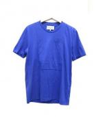 Martin Margiela 10(マルタンマルジェラ 10)の古着「ポケットTシャツ」|ブルー