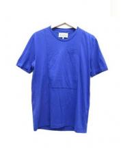 Martin Margiela 10(マルタンマルジェラ 10)の古着「ポケットTシャツ」 ブルー