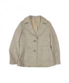 MARGARET HOWELL(マーガレットハウエル)の古着「ツイードジャケット」|ブラウン