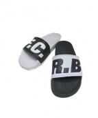 F.C.R.B.(エフシーアールビー)の古着「サンダル」|ブラック×ホワイト