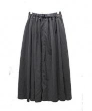 GRAMICCI(グラミチ)の古着「別注ギャバロングスカート」 グレー