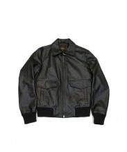 COACH(コーチ)の古着「A2レザージャケット」|ブラック