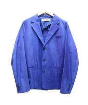 MARNI(マルニ)の古着「3Bグラデーションテーラードジャケット」 ブルー
