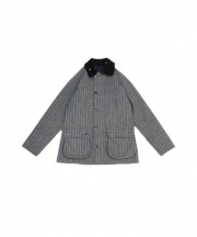 Barbour(バブアー)の古着「BEDALE SL BONDED WOOL」|グレー