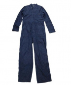 Varde77(バルデセブンティセブン)の古着「デニムオールインワン」 ブルー