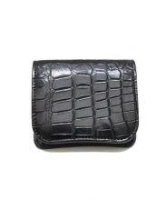 WILDSWANS(ワイドルスワンズ)の古着「Palm コンパクトウォレット」|ブラック