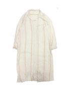 GALERIE VIE(ギャルリーヴィー)の古着「リネン ロングシャツワンピース」