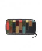 glamb(グラム)の古着「Gaudy zip wallet」|ブラック